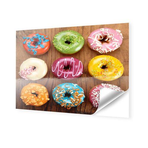 myposter donuts-bilder Klebefolie im Format 80 x 45 cm