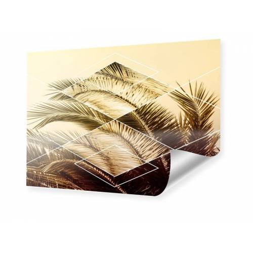 myposter Geometric Palm Leaves Poster im Format 50 x 40 cm