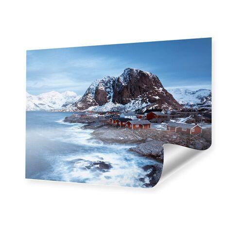 myposter Bucht von Hamnoy Poster im Format 70 x 50 cm