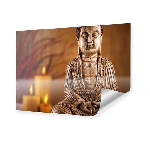 myposter Buddha mit Kerzen Poster im Format 90 x 60 cm