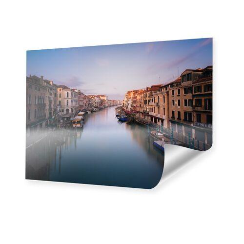myposter Sonnenaufgang an der Rialto Brücke Poster im Format 80 x 45 cm
