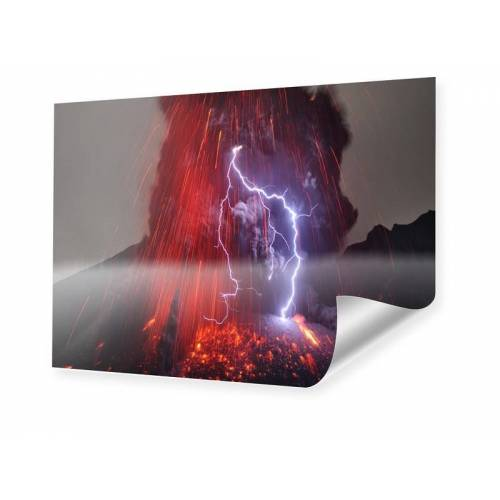 myposter Vulkanausbruch Poster im Format 64 x 36 cm