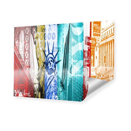 myposter Collage New York Poster im Format 60 x 45 cm