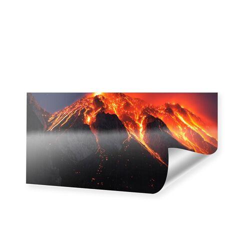 myposter Vulkan Foto Poster als Panorama im Format 140 x 70 cm