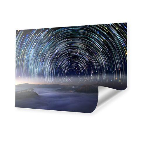 myposter Sternenspirale Foto Poster im Format 80 x 60 cm