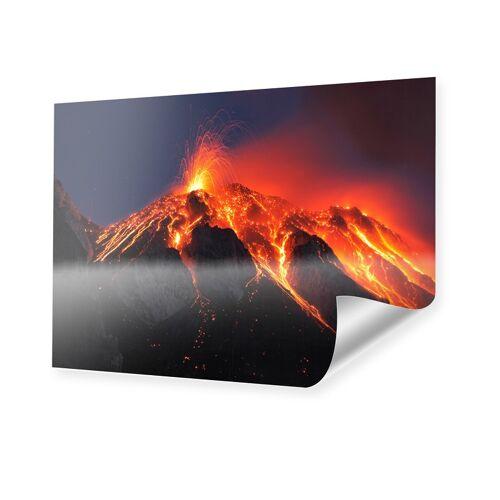 myposter Vulkan Foto Poster im Format 60 x 45 cm