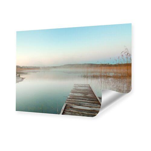 myposter Sonnenuntergang am Steg Poster im Format 70 x 50 cm