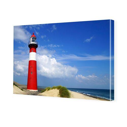 myposter Leuchtturm Poster Foto auf Leinwand im Format 28 x 21 cm