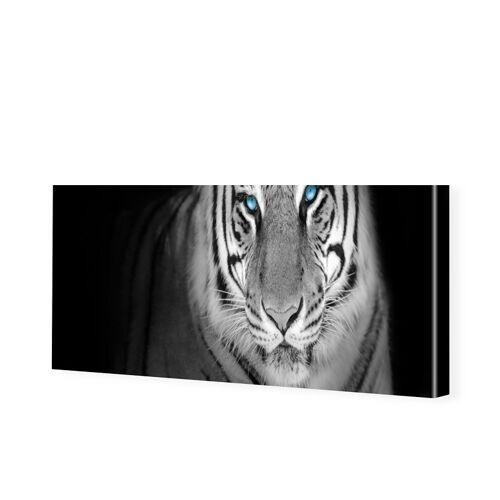 myposter Tiger Panorama Leinwandbild als Panorama im Format 120 x 60 cm