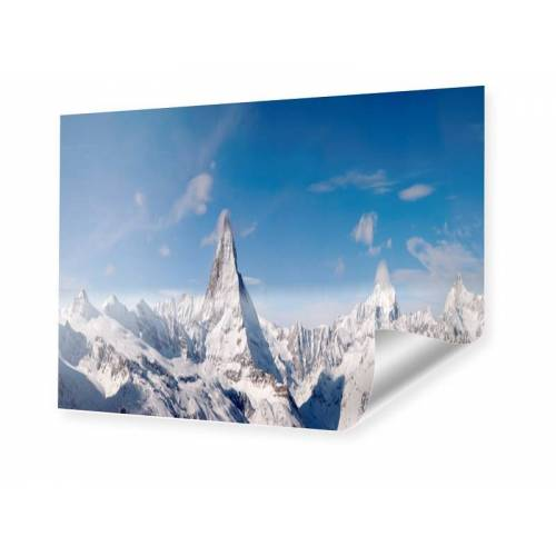 myposter Alpen Panorama Matterhorn Poster im Format 60 x 45 cm