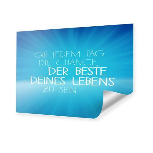 myposter Motivationsposter Poster DIN Format im Format 29,7 x 21 cm