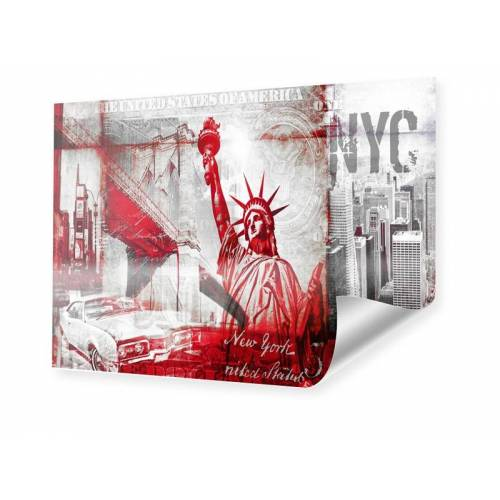 myposter New York Collage Poster im Format 50 x 40 cm
