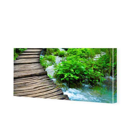 myposter Naturbild Leinwandbild als Panorama im Format 140 x 70 cm
