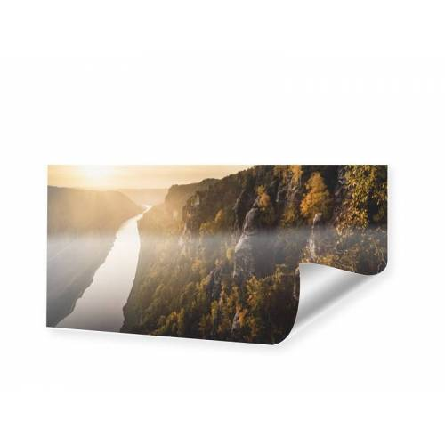 myposter Elbe Panorama Poster als Panorama im Format 200 x 100 cm