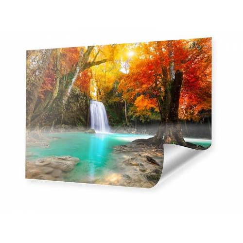 myposter Wasserfall Landschaft Poster im Format 150 x 100 cm