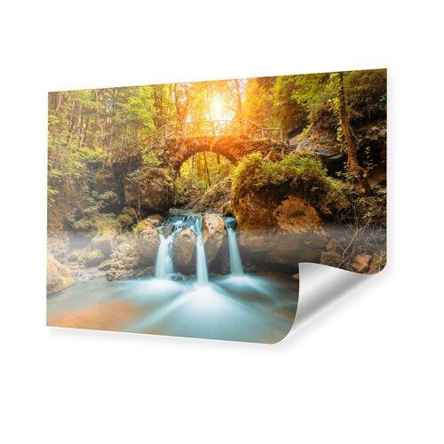 myposter Wasserfall Motiv Poster im Format 60 x 40 cm