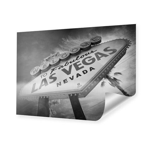 myposter Las Vegas Schild Bild XXL Poster im Format 120 x 90 cm
