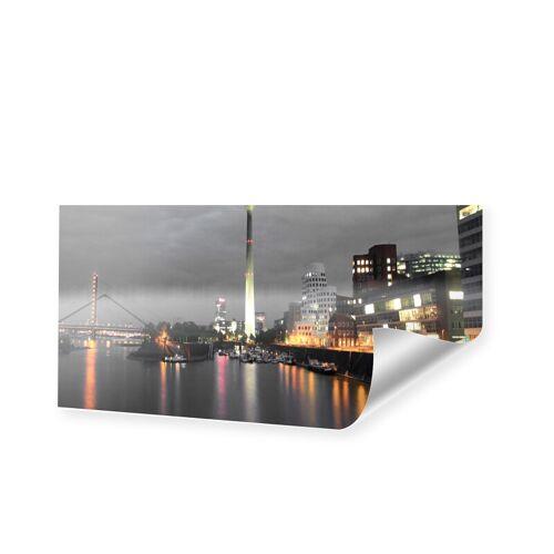 myposter Duesseldorfer Skyline Poster Poster als Panorama im Format 120 x 60 cm