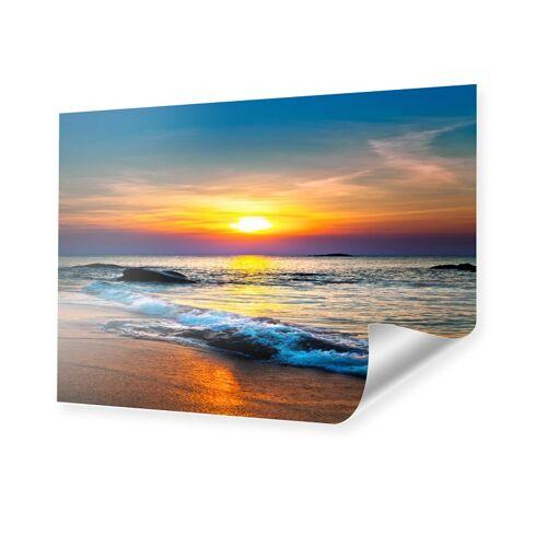 myposter Sonnenuntergang am Strand Poster im Format 80 x 60 cm