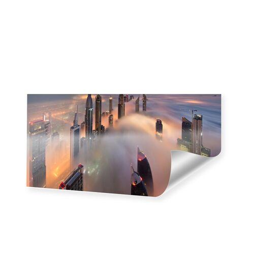 myposter Dubai Skyline Poster als Panorama im Format 90 x 45 cm