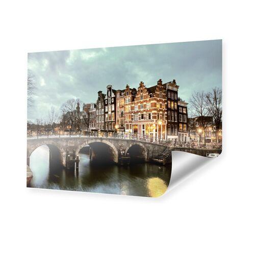 myposter Amsterdam Bild Poster im Format 45 x 30 cm