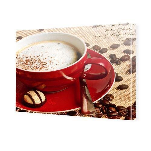 myposter Kaffee Poster Foto auf Leinwand im Format 60 x 45 cm
