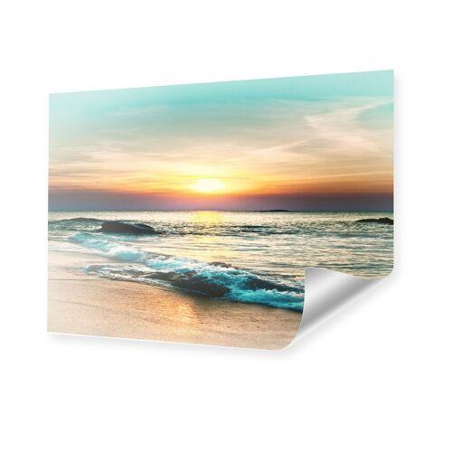 myposter Sonnenuntergang am Strand Poster im Format 100 x 70 cm