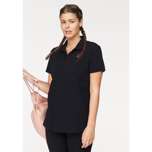 KangaROOS LM Große Größen: KangaROOS Poloshirt, schwarz, Gr.44/46-56/58