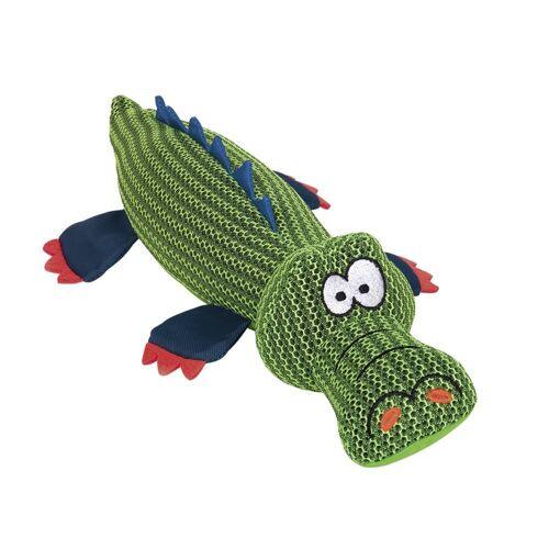 Nobby Mesh Nilfpferd und Krokodil, Krokodil - 45 cm - grün