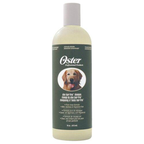 Oster Hundeshampoo, Tränenfrei ohne Duftstoff Aloe Vera, 473ml