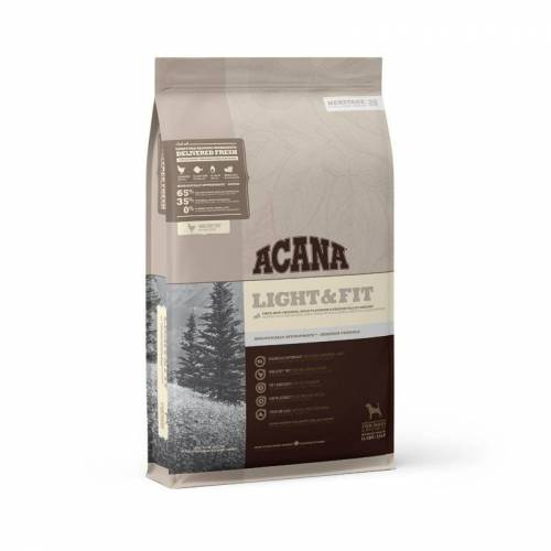 Acana Heritage Light & Fit Hundefutter, 11,4 kg