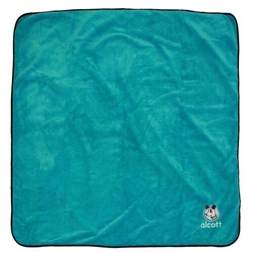 Alcott Stranddecke für Hunde, blau