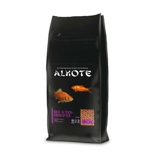 AL-KO-TE ALKOTE Goldfischfutter Teichfischfutter, 13,5 kg 2 mm