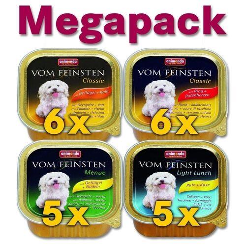 Animonda vom Feinsten Adult Mix 1 Megapack Hundefutter, 22x150g
