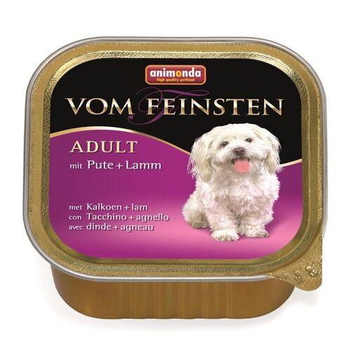 Animonda Vom Feinsten Classic Hundefutter, 22 x 150g Schale Pute & Lamm