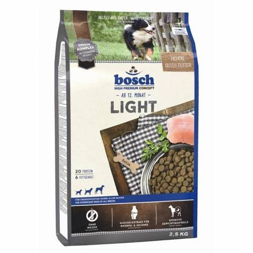 Bosch Light Hundefutter, 2.5 kg