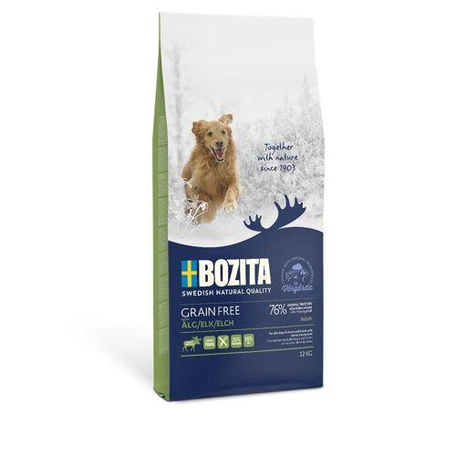 Bozita Hundefutter Grain Free Elch, 12 kg