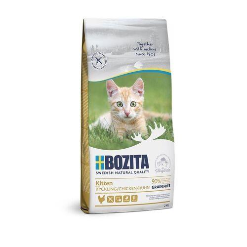 Bozita Trockenfutter Kitten Getreidefrei Huhn, 2kg