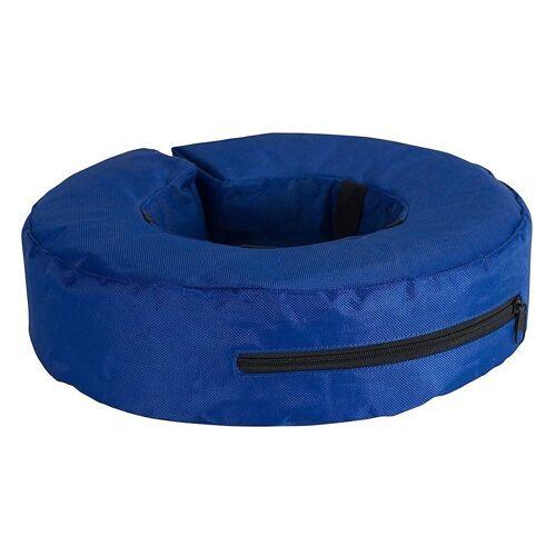 Buster aufblasbarer Hundekragen, XL, Innen 18 cm, Außen 36 cm, blau