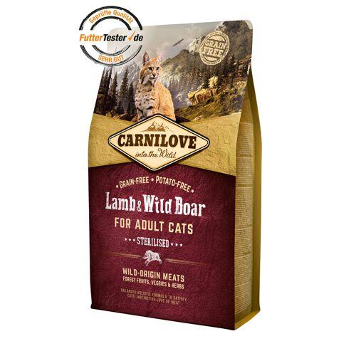 Carnilove Adult Lamb & Wild Boar Katzenfutter, 2 kg