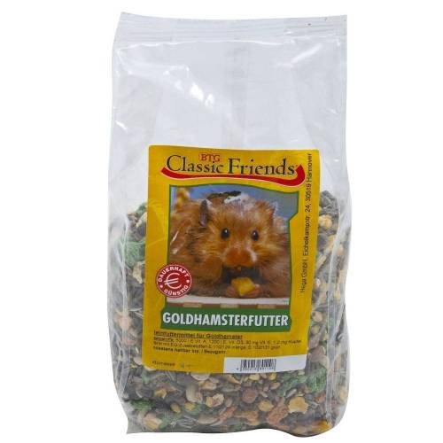 Classic Friends Goldhamsterfutter, 25kg
