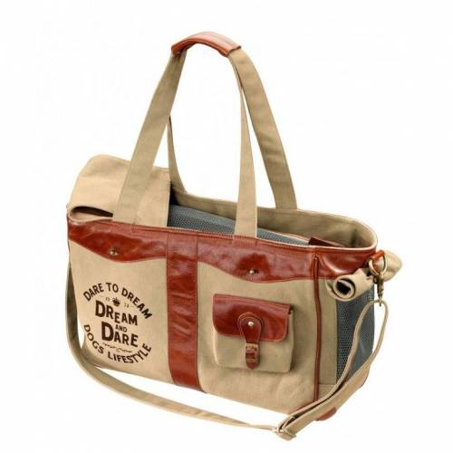 DREAM and DARE D&D; Luxury Bag Dream Tragetasche, 40x20x28cm, raw-sienna