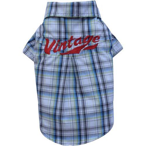 DoggyDolly DogyDolly Hundeshirt Vintage Hemd, XXL - Rücken: 36 - 38 cm, Brust: 56 - 58 cm