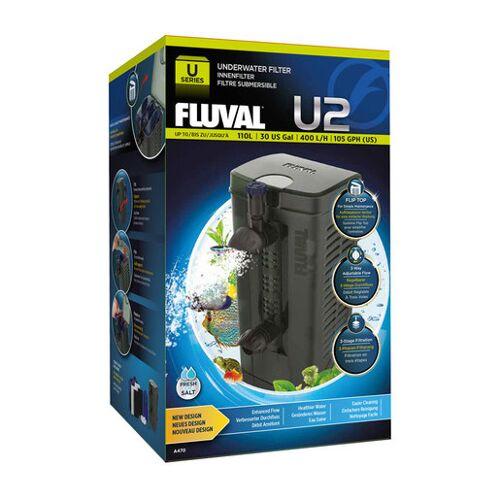 Fluval Aquarium Innenfilter U Serie, U2 45-110 l, 9,6 x 20,7 x 8,0 cm