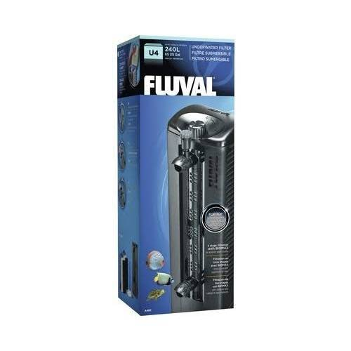 Fluval Aquarium Innenfilter U Serie, U4 130-240 l, 10,0 x 32,0 x 9,0 cm