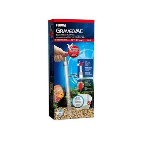 Fluval GravelVac Aquarium Mulmsauger, mittel/groß, 43,0 x 9,0 x 20,0 cm