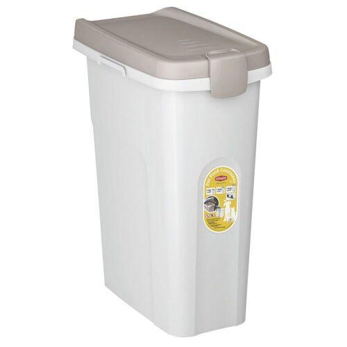 Stefanplast Futtertonne für Trockenfutter, für ca. 10 kg Trockenfutter, 25 Liter (L39 x B24 x H51 cm)