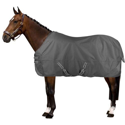 HV Polo leichte Pferde Regendecke Fleece, Gr. 160 cm - grau