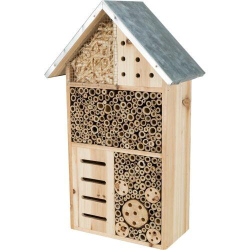 TRIXIE Insektenhotel mit Spitzdach, 29 × 49 × 16 cm 59512