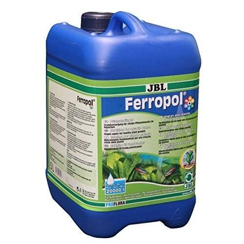 JBL Ferropol Pflanzendünger für Süßwasser-Aquarien, 5 l